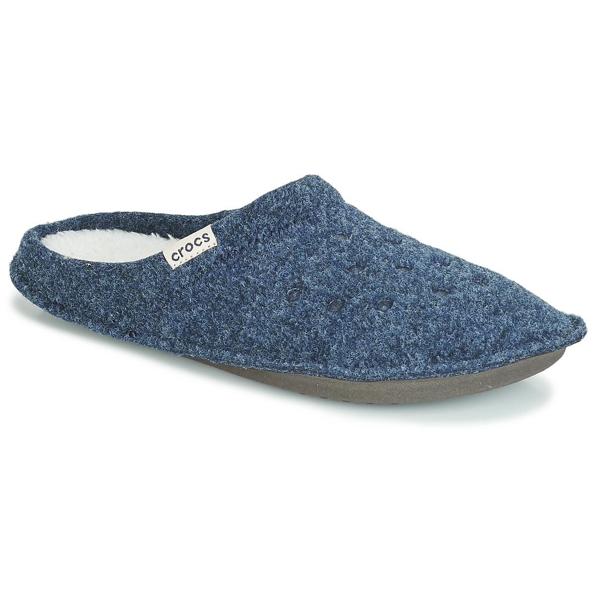 Crocs CLASSIC SLIPPER Marine / Rot - Kostenloser Versand bei Spartoode ! - Schuhe Hausschuhe  24,00 €