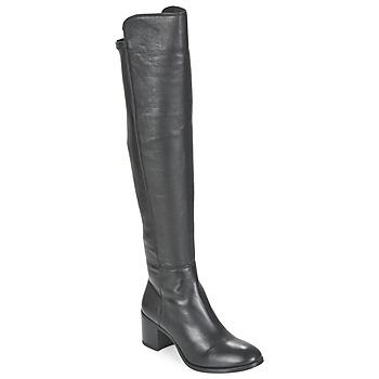 Schuhe Damen Klassische Stiefel Unisa FARIA Schwarz