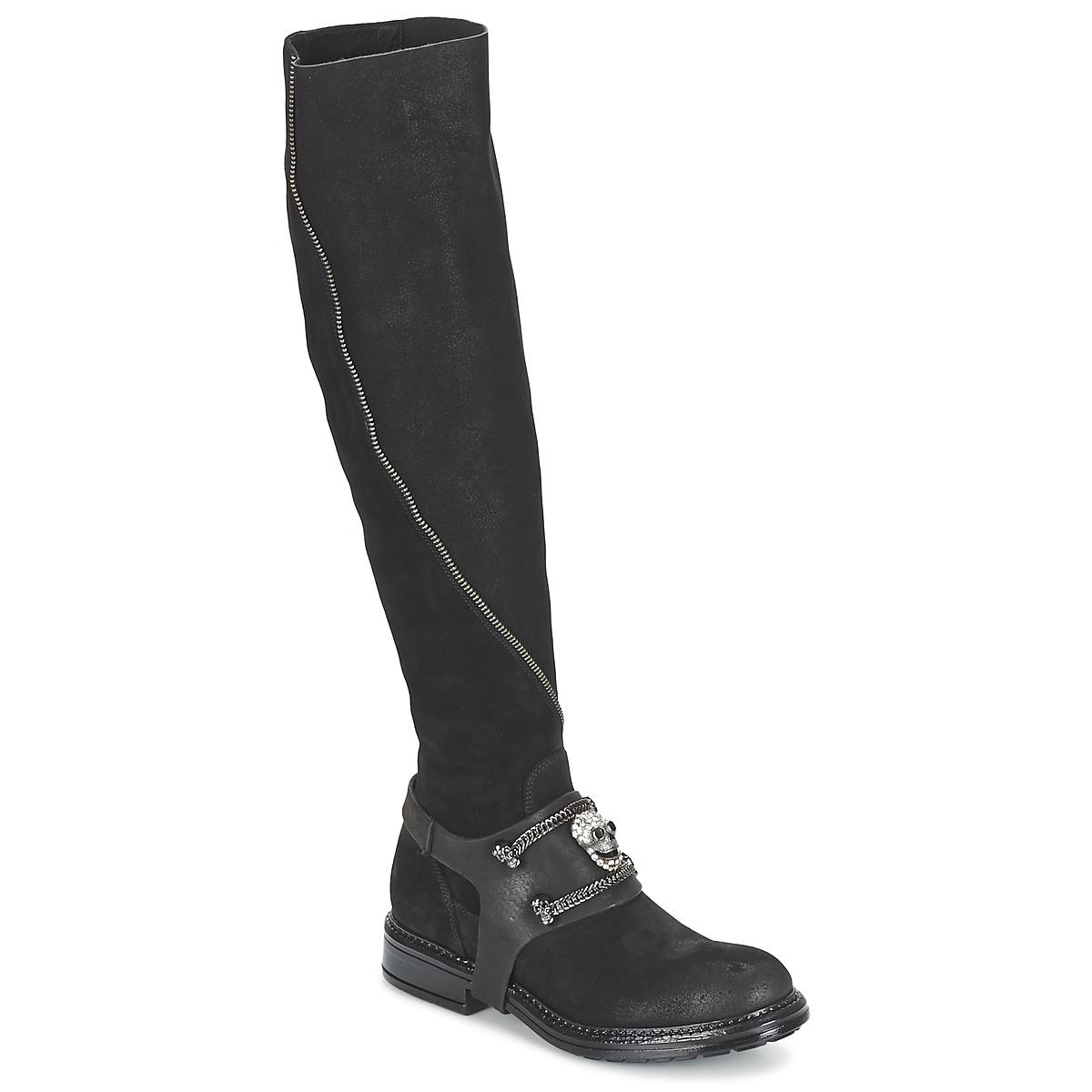 Now CALOPORO Schwarz - Kostenloser Versand bei Spartoode ! - Schuhe Klassische Stiefel Damen 179,50 €