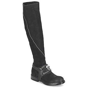 Schuhe Damen Klassische Stiefel Now CALOPORO Schwarz