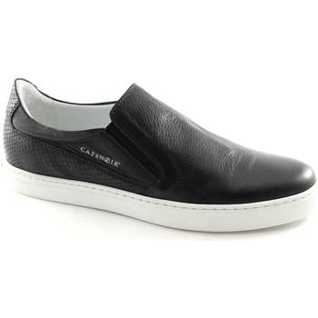 Schuhe Herren Slipper Café Noir CAF-PG122-NE Nero