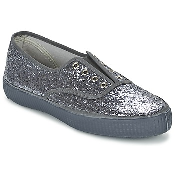 Schuhe Damen Sneaker Low Chipie JOSS GLITTER Anthrazit