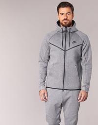 Kleidung Herren Jacken Nike TECH FLEECE WINDRUNNER HOODIE Grau