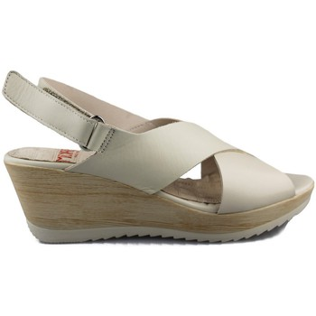 Schuhe Damen Sandalen / Sandaletten Mikaela NAPPA BEIGE