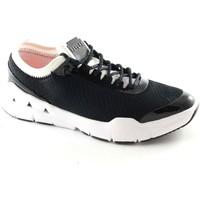 Schuhe Damen Sneaker Low Replay RS390003S HAUTE schwarze Frauen weiße Turnschuhe Stoff Schnürse Nero