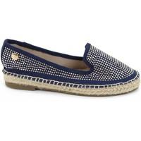 Schuhe Mädchen Leinen-Pantoletten mit gefloch Xti 52918 Azul
