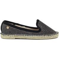 Schuhe Mädchen Leinen-Pantoletten mit gefloch Xti 52918 Negro