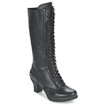 Schuhe Damen Klassische Stiefel Art HARLEM Schwarz