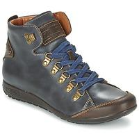 Schuhe Damen Sneaker High Pikolinos LISBOA W67 Marine
