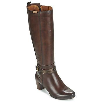 Schuhe Damen Klassische Stiefel Pikolinos SEGOVIA W1J Braun