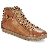 Schuhe Damen Sneaker High Pikolinos LAGOS 901 Cognac