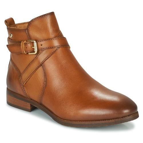 Pikolinos ROYAL W4D Cognac  Schuhe Boots Damen 129