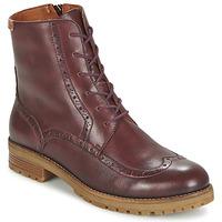 Schuhe Damen Boots Pikolinos SANTANDER W4J Braun