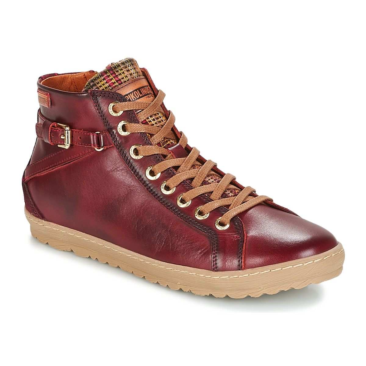 Pikolinos LAGOS 901 Bordeaux - Kostenloser Versand bei Spartoode ! - Schuhe Sneaker High Damen 119,00 €