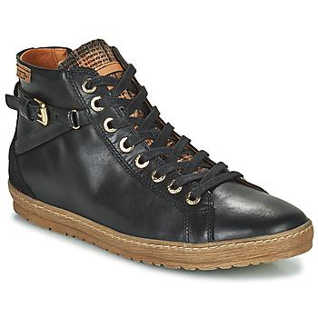Schuhe Damen Sneaker High Pikolinos LAGOS 901 Schwarz