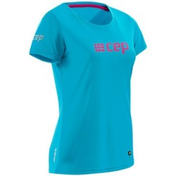 Kleidung Damen T-Shirts Cep Brand Run Shirt Women Blau