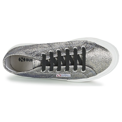 Superga 2754 LAMEW Silbern Damen  Schuhe Sneaker High Damen Silbern 51,50 76ca26