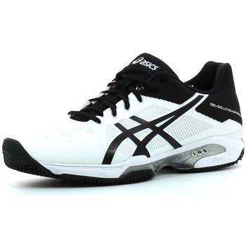 Schuhe Herren Indoorschuhe Asics Gel Solution speed 3 Clay Weiss