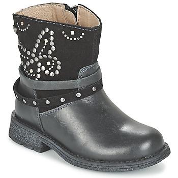 Schuhe Mädchen Boots Garvalin GENILA Schwarz