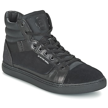 Schuhe Herren Sneaker High G-Star Raw NEW AUGUR Schwarz