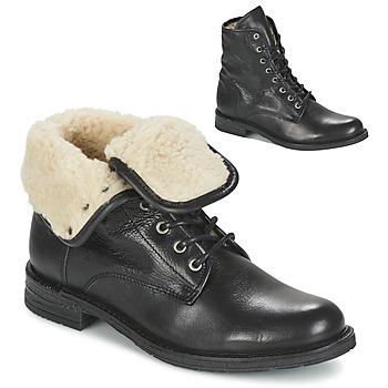 Schuhe Damen Boots Mustang SABORA Schwarz