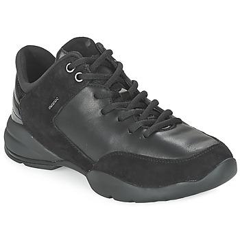 Schuhe Damen Sneaker Low Geox SFINGE A Schwarz