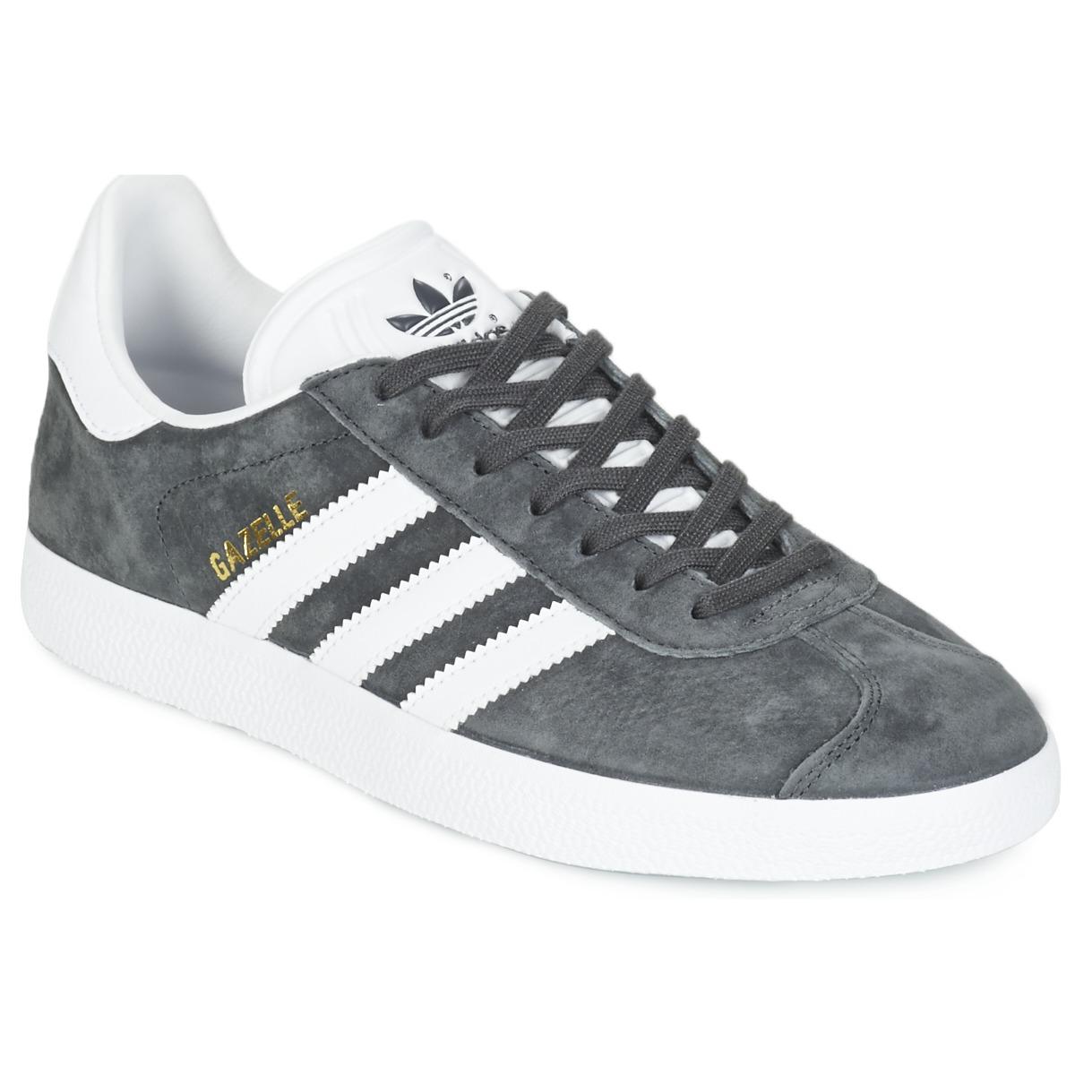 adidas Originals GAZELLE Grau - Kostenloser Versand bei Spartoode ! - Schuhe Sneaker Low  80,00 €