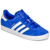 Schuhe Jungen Sneaker Low adidas Originals GAZELLE 2 J Blau