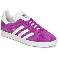 Schuhe Damen Sneaker Low adidas Originals GAZELLE Violett