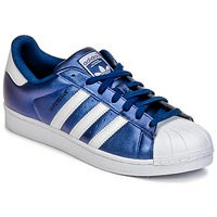 Schuhe Herren Sneaker Low adidas Originals SUPERSTAR Blau