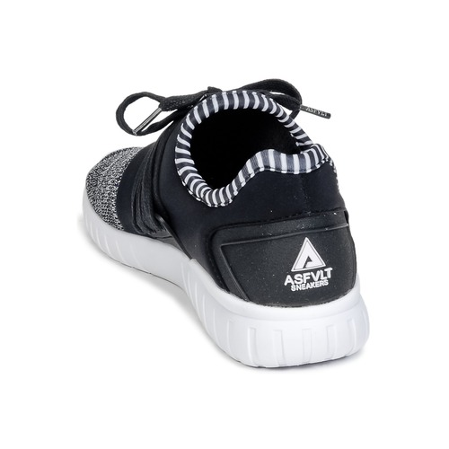 Asfvlt AREA AREA AREA Schwarz   Grau  Schuhe Turnschuhe Low 681719