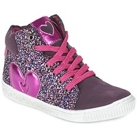 Schuhe Mädchen Sneaker High Agatha Ruiz de la Prada BUSOULI Violett