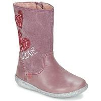 Schuhe Mädchen Klassische Stiefel Agatha Ruiz de la Prada BIGI Rose
