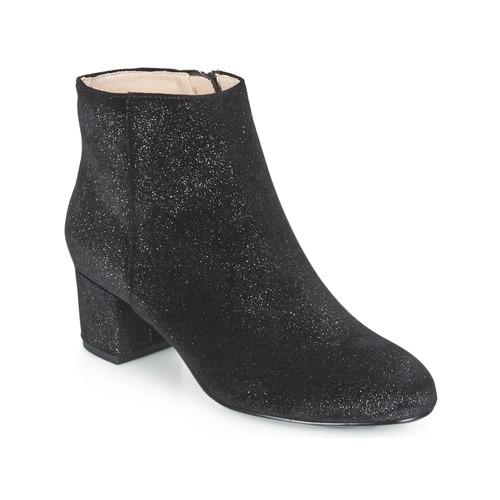 Mellow Yellow ALANA Schwarz  Schuhe Low Boots Damen