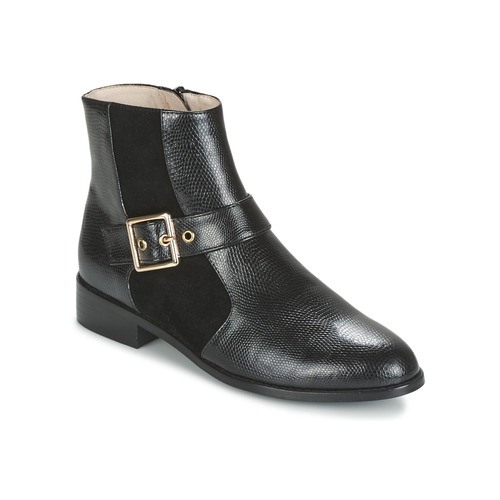 Mellow Yellow ALDANA Schwarz  Schuhe Boots Damen 103,20