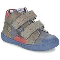 Schuhe Jungen Boots Mod'8 KINZO Marine / Grau