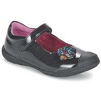 Schuhe Mädchen Ballerinas Mod'8 KANDEA Schwarz
