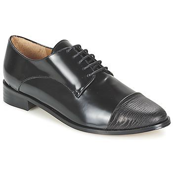 Schuhe Damen Derby-Schuhe Emma Go SHERLOCK Schwarz