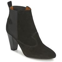 Schuhe Damen Low Boots Heyraud DAISY Schwarz