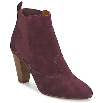 Schuhe Damen Low Boots Heyraud DAISY Bordeaux