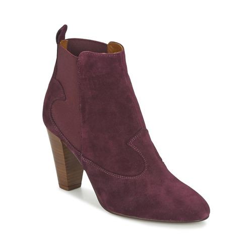 Heyraud DAISY Bordeaux Schuhe Low Boots Damen 94,50