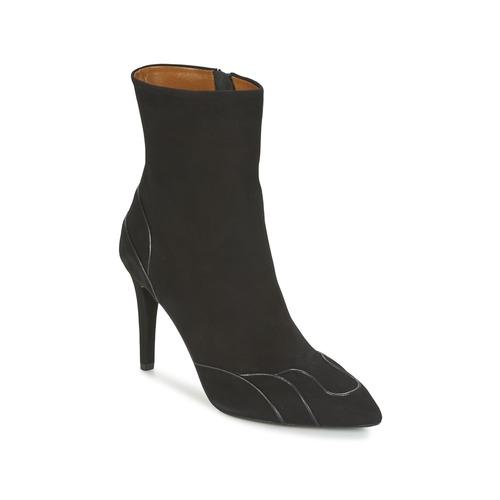 Heyraud DARLING Schwarz Schuhe Low Boots Damen 139,50