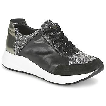 Schuhe Damen Sneaker Low Tosca Blu EDEN Schwarz