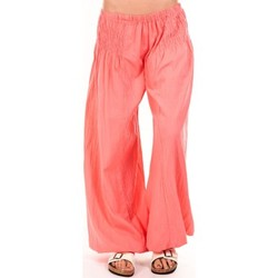 Kleidung Damen Fließende Hosen/ Haremshosen By La Vitrine Sarouel Medina corail Orange