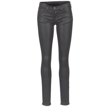 Kleidung Damen Slim Fit Jeans Cimarron ROSIE DENM WAX Schwarz