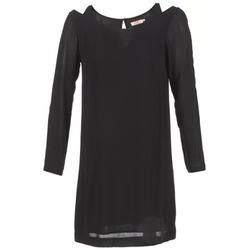 Kleidung Damen Kurze Kleider DDP CRAPOU Schwarz