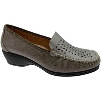 Schuhe Damen Slipper Calzaturificio Loren LOK3929ta tortora