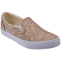 Schuhe Damen Slip on Liu Jo Pizzo Taupe Slip On sneakers