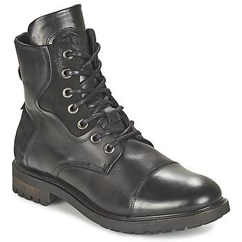 Schuhe Herren Boots Bunker RESCUE Schwarz