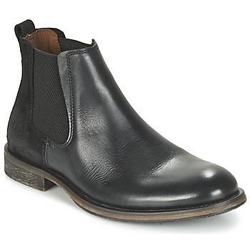 Schuhe Herren Boots Bunker BEAT Schwarz